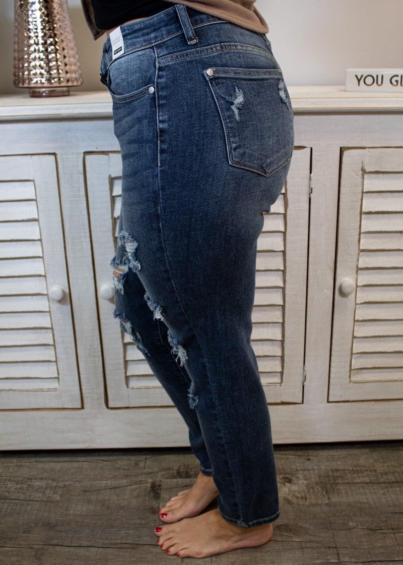 Put A Ring On It Boyfriend Jeans