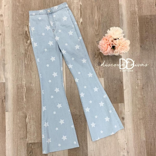 Starry Eyed Super Flare Jean