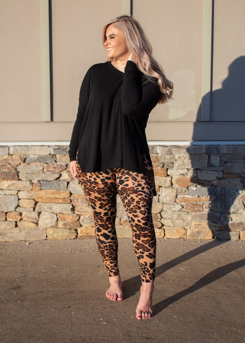 Live and Learn Leggings  *Final Sale*