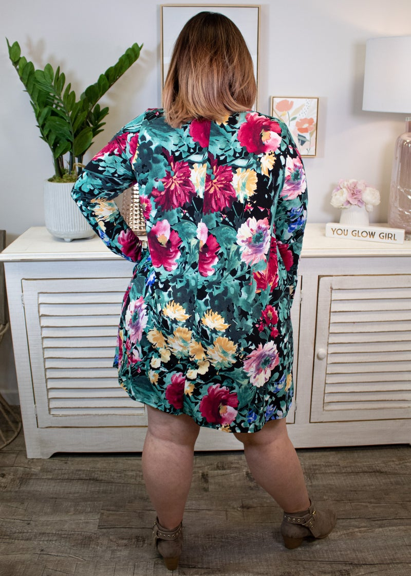 Date Night Floral Dress