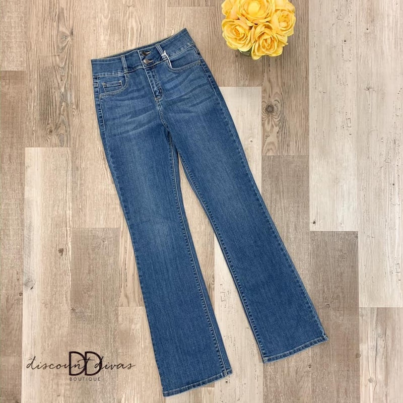 High Rise Bootcut Jeans *Final Sale*
