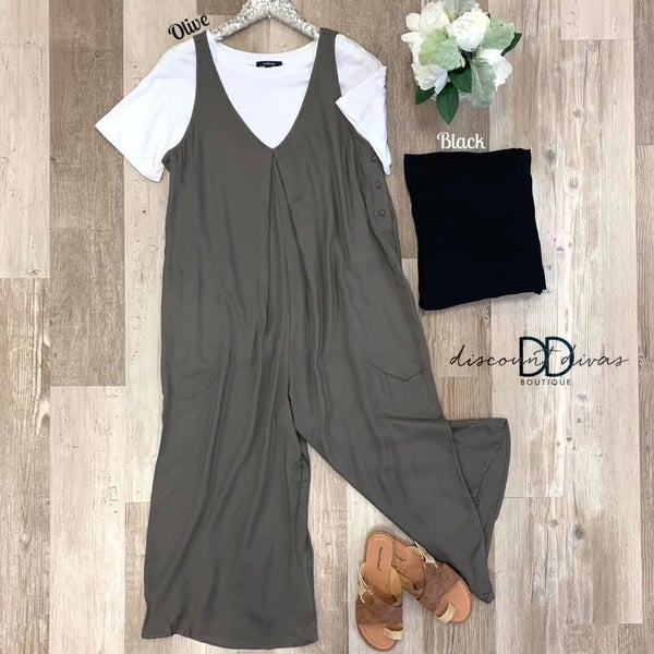 Pretty In Pleat Jumpsuit
