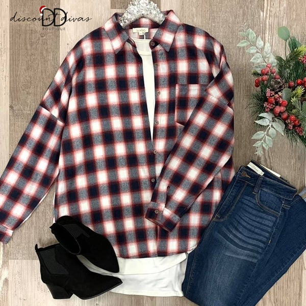For Tonight Flannel *Final Sale*