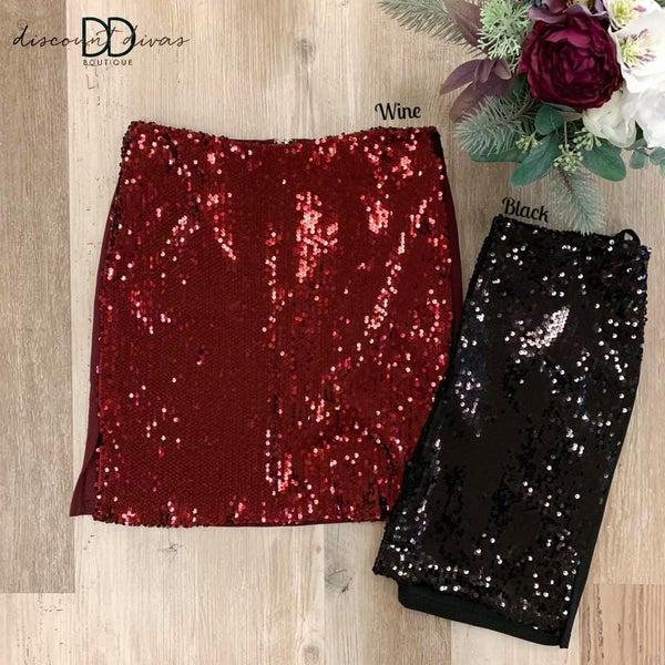 Shine Bright Like A Diamond Skirt *Final Sale*