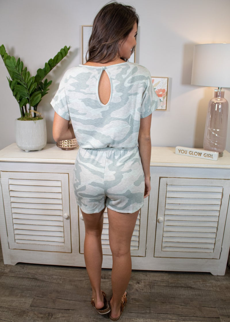 Time To Shine Romper *Final Sale*