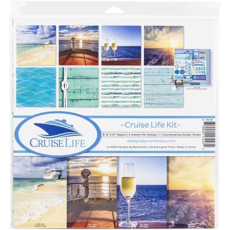 Cruise Life Paper Pack