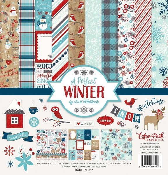 A Perfect Winter Paper Pack