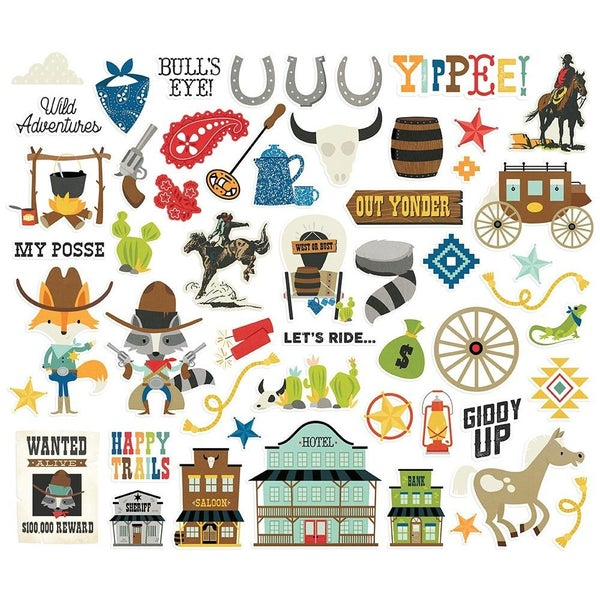 Howdy! Bits & Pieces Die Cuts