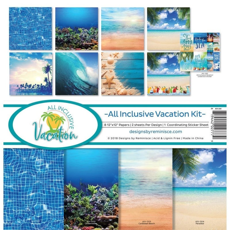 Vacation Paper Pack