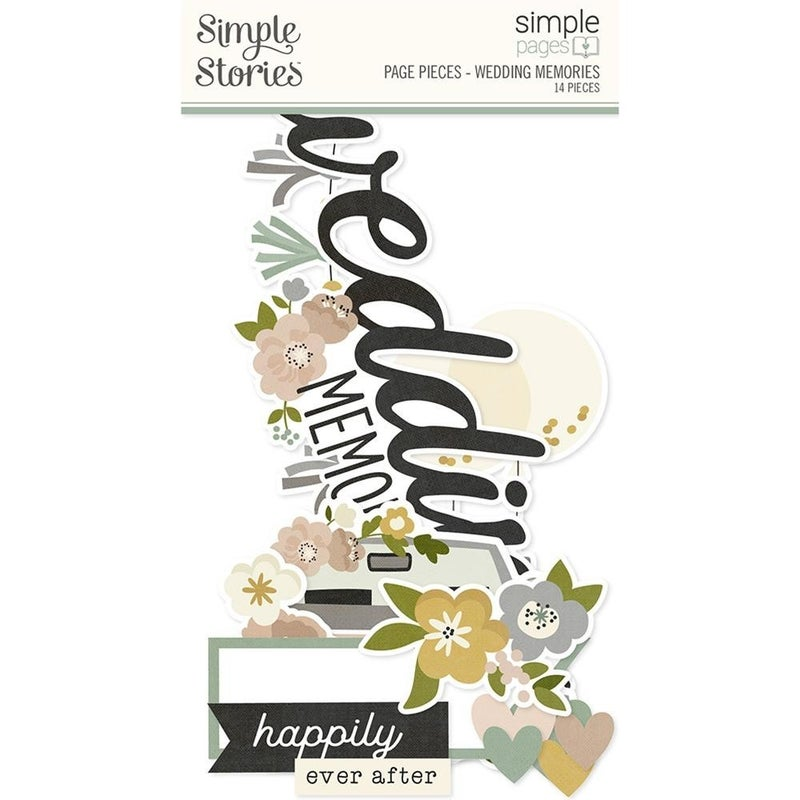 Wedding Memories - Happily Ever After - Page Pieces
