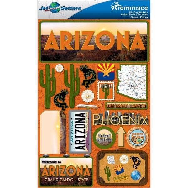 Jet Setters Arizona Stickers