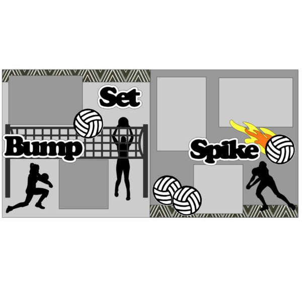 Bump Set Spike Kit