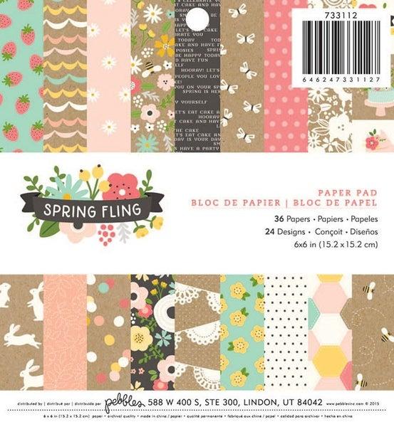 Spring Fling 6x6 Paper Pad