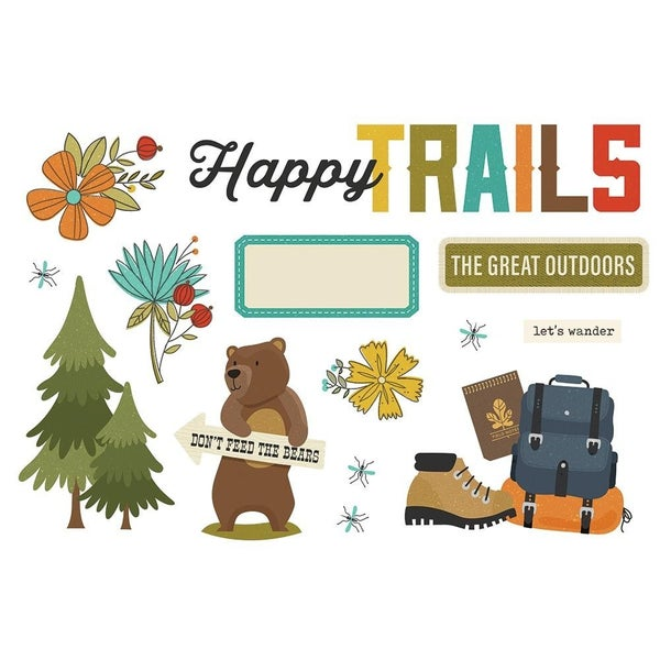 Happy Trails Page Pieces