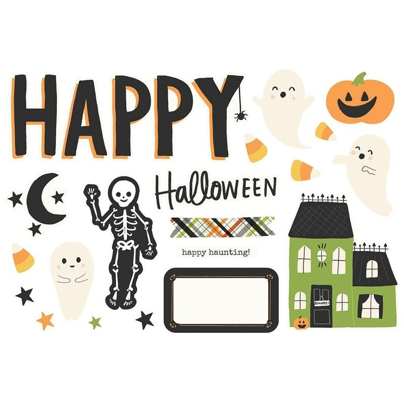 Happy Halloween Page Pieces - Spooky Nights Collection