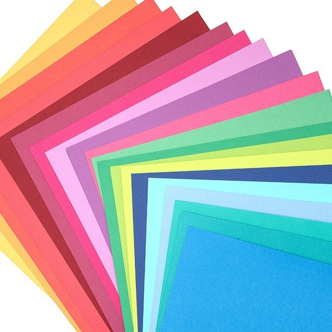 American Crafts Brights Cardstock Pack Qty 60