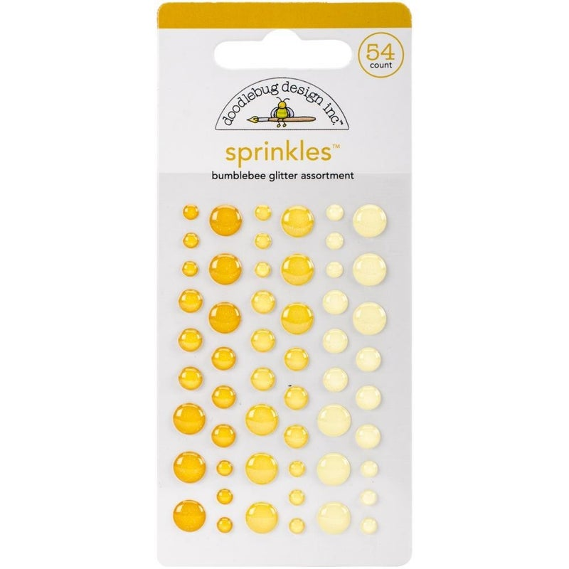 Doodlebug Glitter Sprinkles - Bumblebee