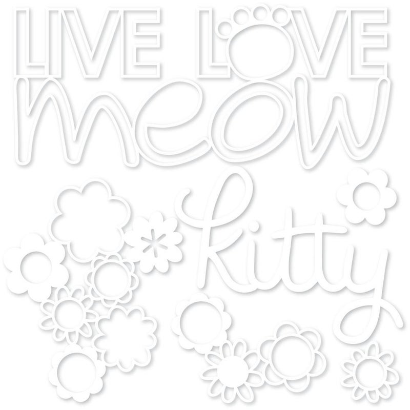Bella Besti Cutouts - Live Love Meow