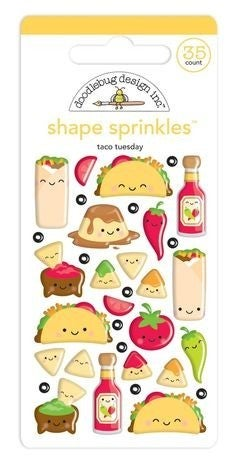 Taco-Bout Fun Shape Sprinkles