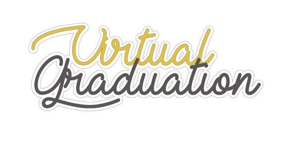 Virtual Graduation Title Die Cut
