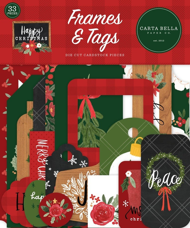 Happy Christmas Frames & Tags