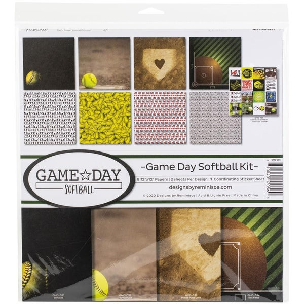 Game Day Softball Paper Pack