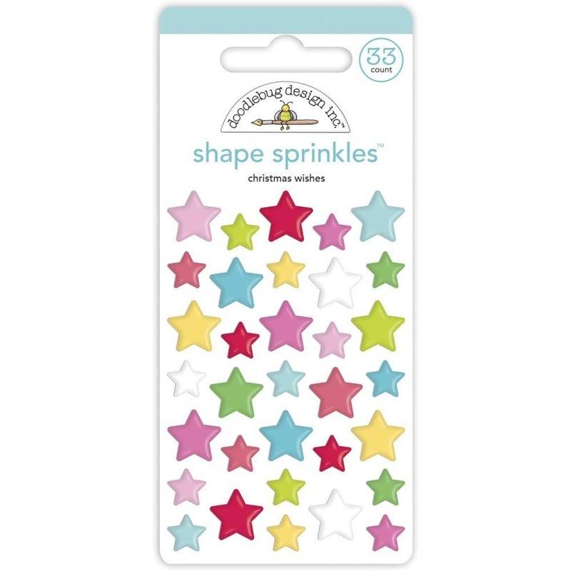 Christmas Wishes Stars Sprinkles