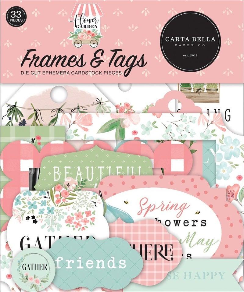 Flower Garden Frames & Tags