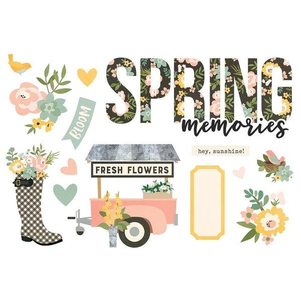 Spring Page Pieces