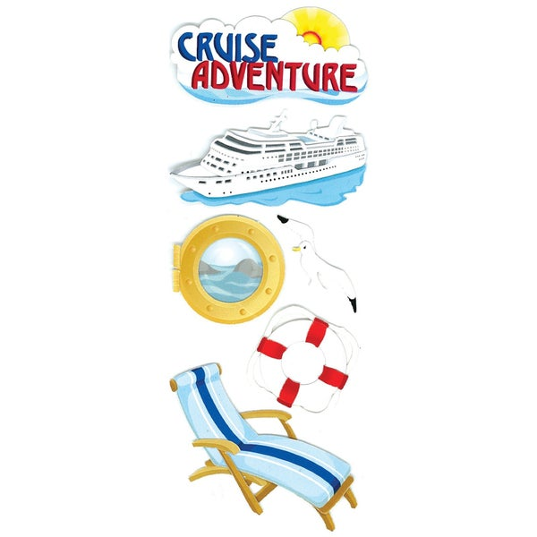 Cruise Adventure Stickers