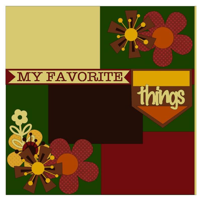 My Favorite Things Fall Kit