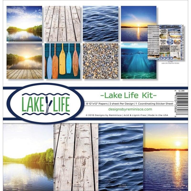 Lake Life Paper Pack