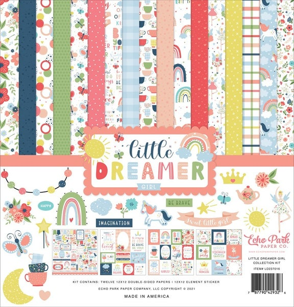 Little Dreamer Girl Paper Pack