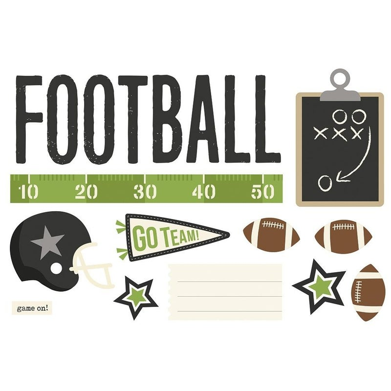 Football Page Pieces