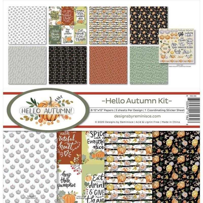 Hello Autumn Paper Pack