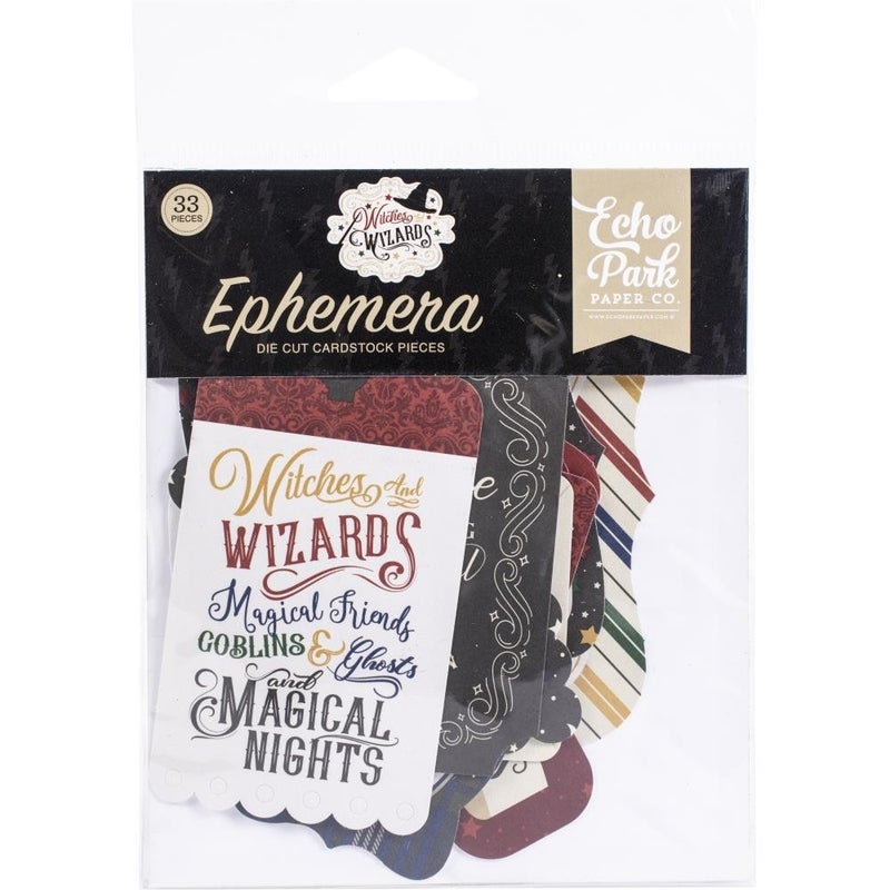 Witches & Wizards Icon Ephemera