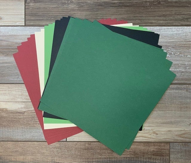 Cozy Christmas Cardstock Pack  (20 sheets)