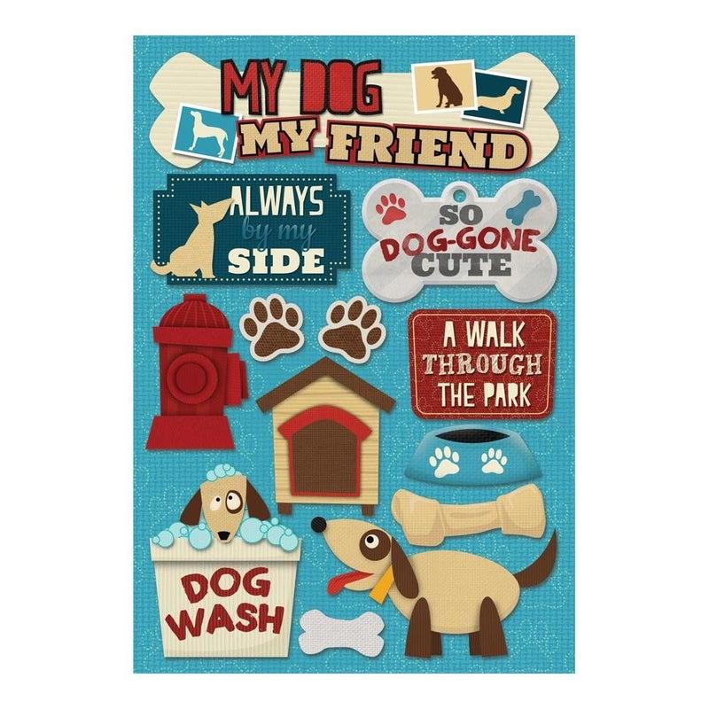 My Dog My Friend Stickers