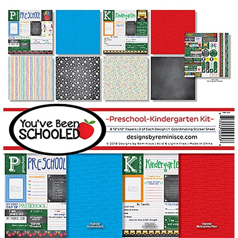 Been Schooled Preschool/Kindergarten Paper Pack