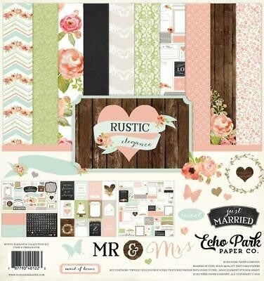 Rustic Elegance Paper Pack