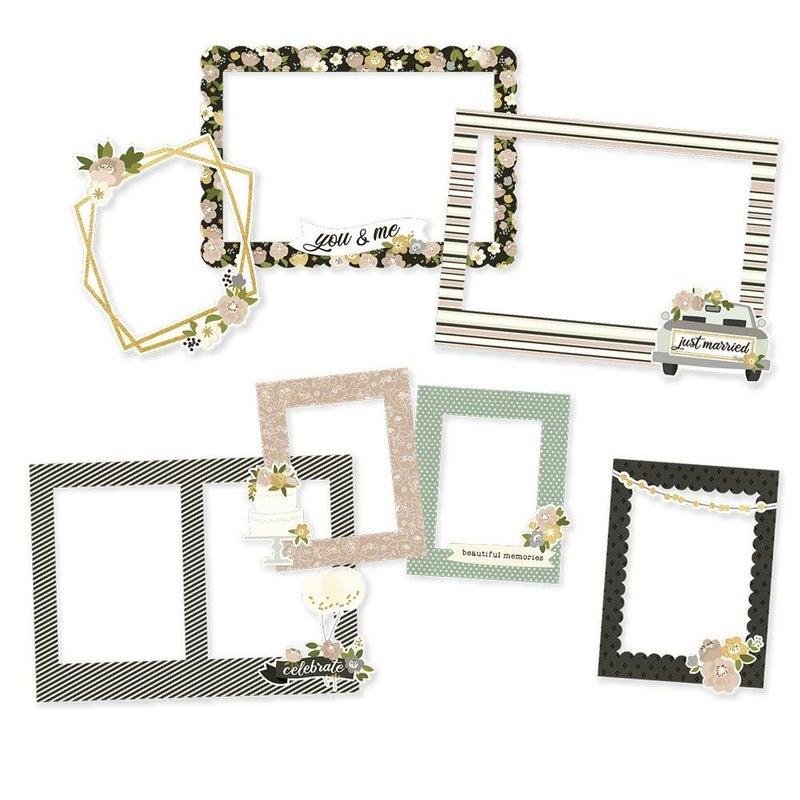 Happily Ever After Chipboard Frames