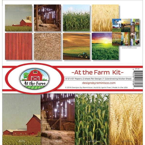 At the Farm Paper Pack