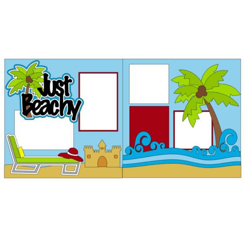 Just Beachy Page Kit