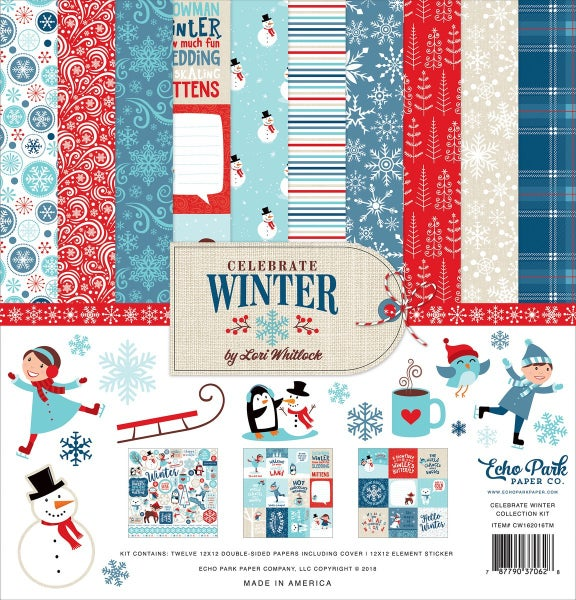 Celebrate Winter Paper Pack