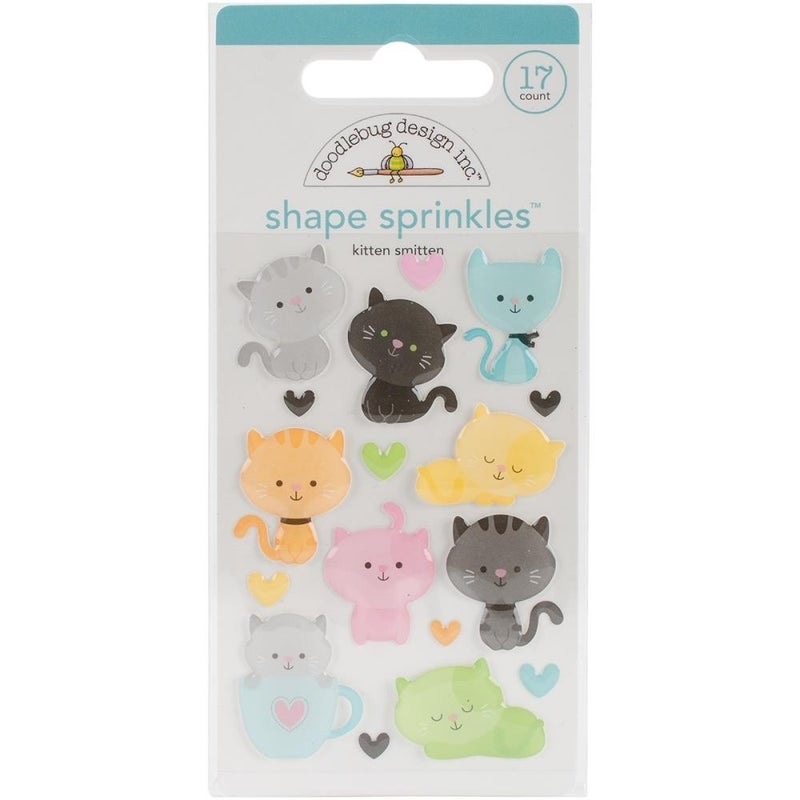 Kitten Smitten Enamel Shapes
