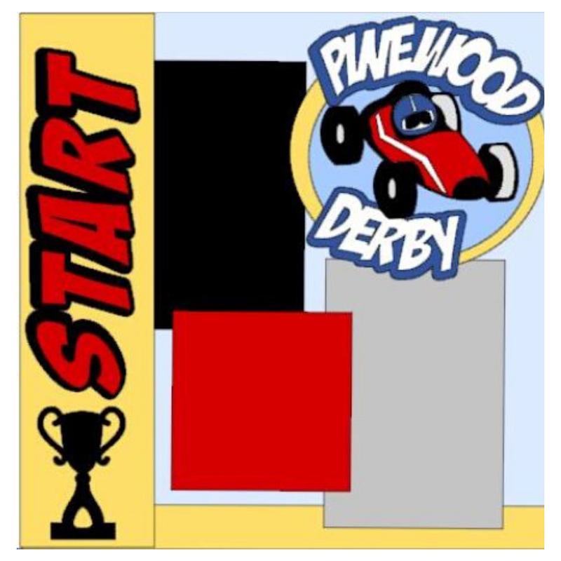 Pinewood Derby Kit
