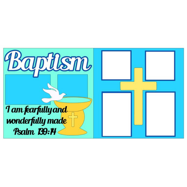 Baptism Blue Kit
