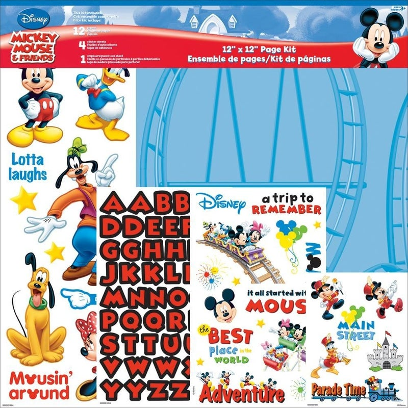 Disney Mickey Mouse Page Kit Pack