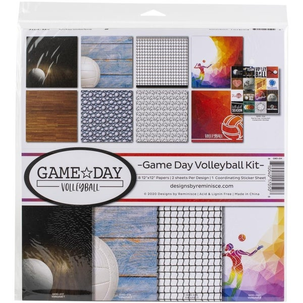 Game Day Volleyball Paper Pack