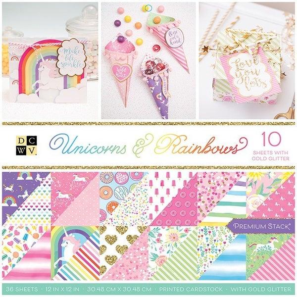 Unicorns and Rainbows Paper Pack